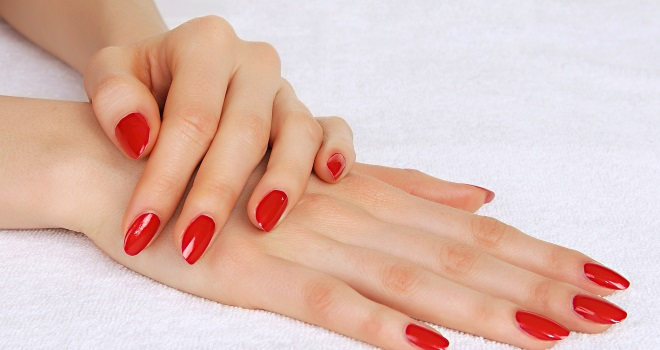 Blondine hand job