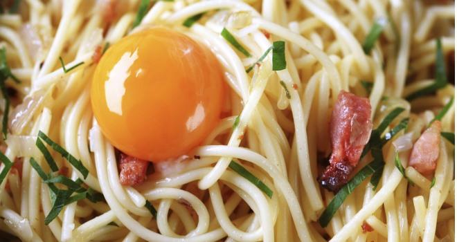 spaghetti carbonara sch n vertraut food fit gesund schoen. Black Bedroom Furniture Sets. Home Design Ideas